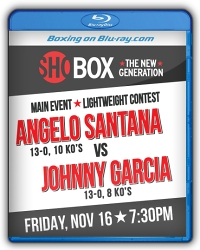 Angelo Santana vs. Johnny Garcia