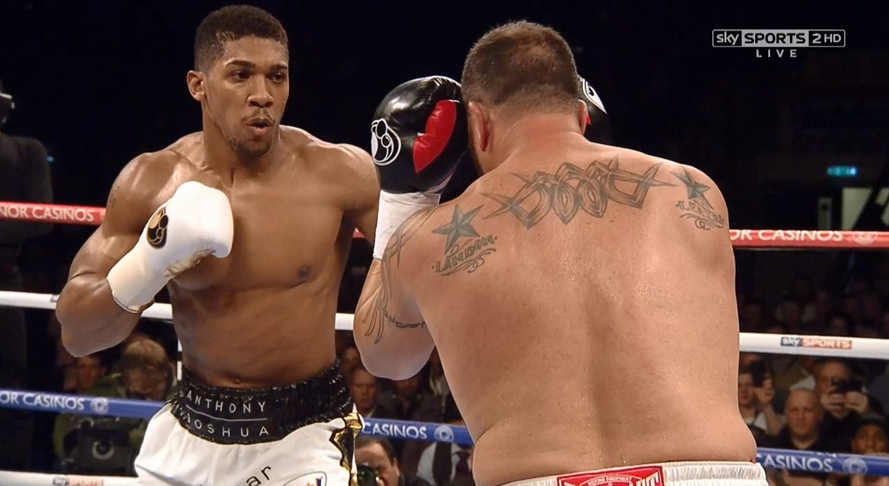 Anthony Joshua: Fights 1 to 14