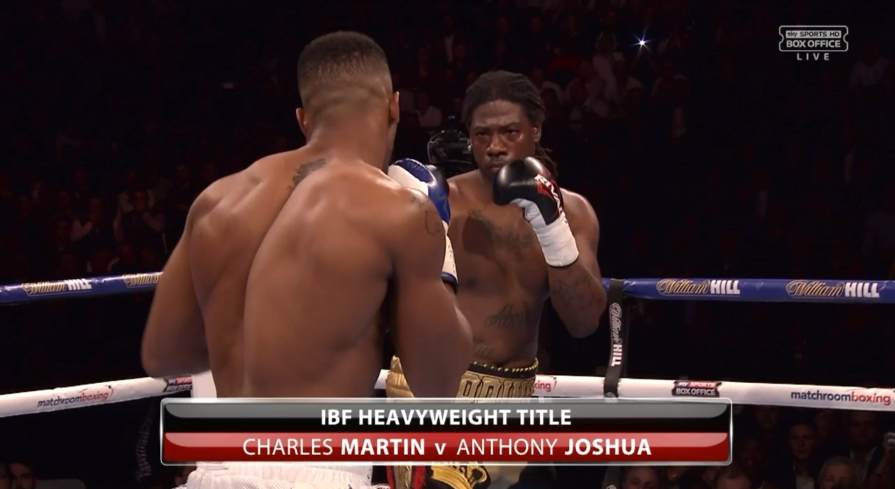 Anthony Joshua vs. Charles Martin (Sky)