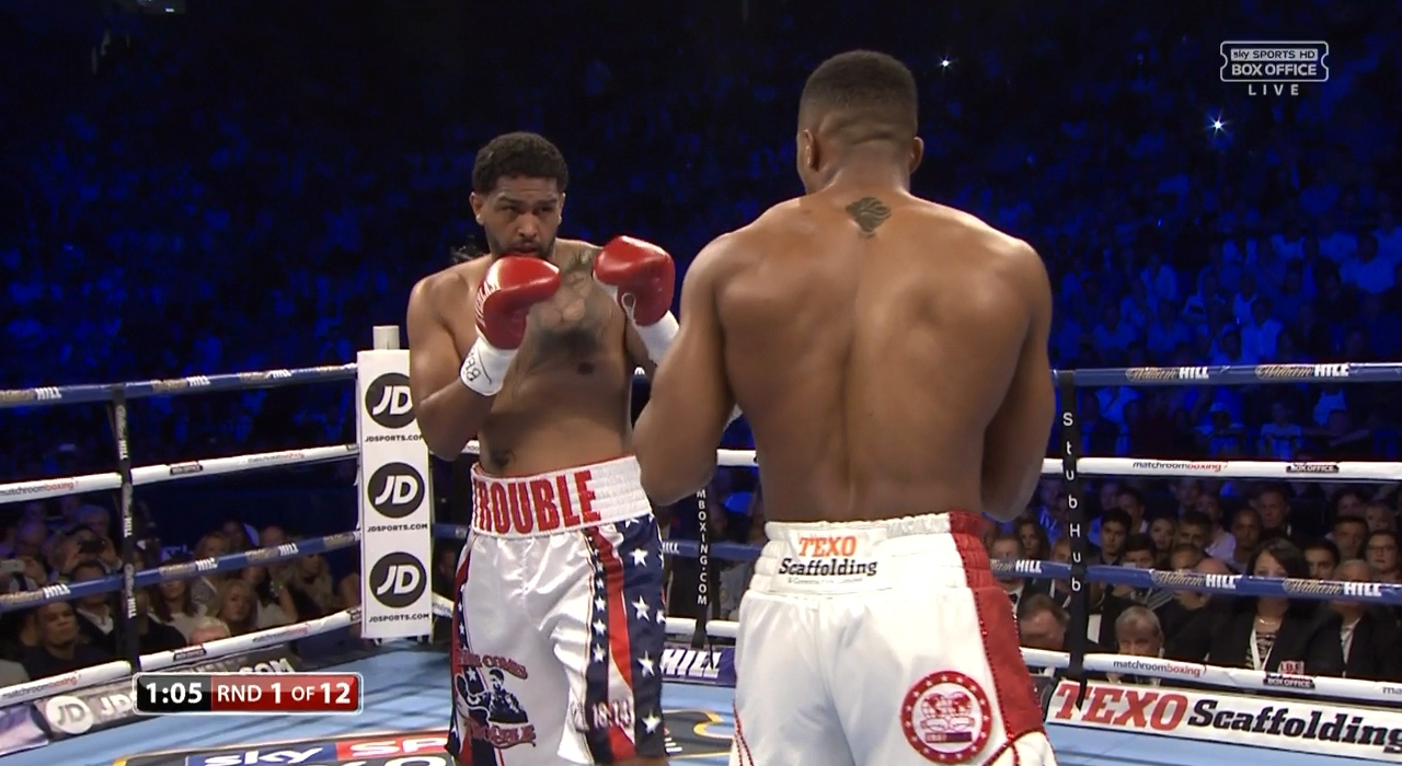 Anthony Joshua vs. Dominic Breazeale (Sky)