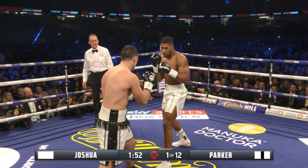Anthony Joshua vs. Joseph Parker (SHO)