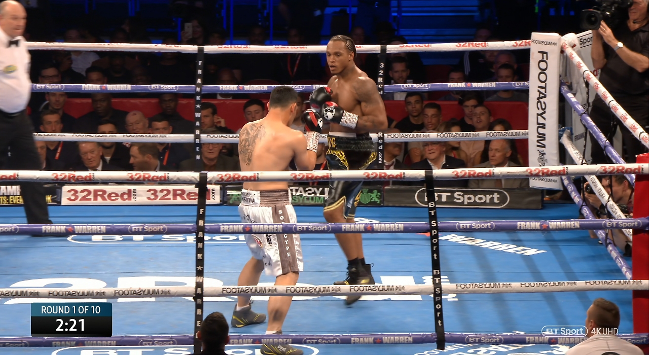 Anthony Yarde vs. Walter Gabriel Sequeira