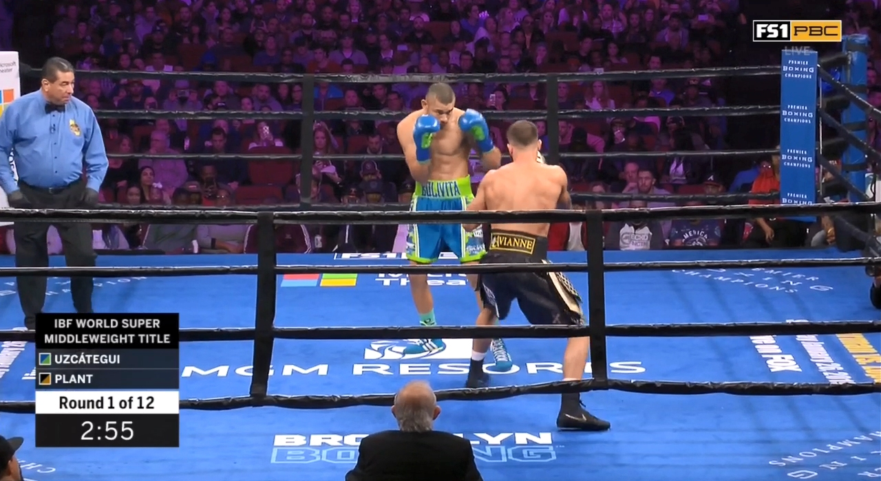 Caleb Plant vs. Jose Uzcategui