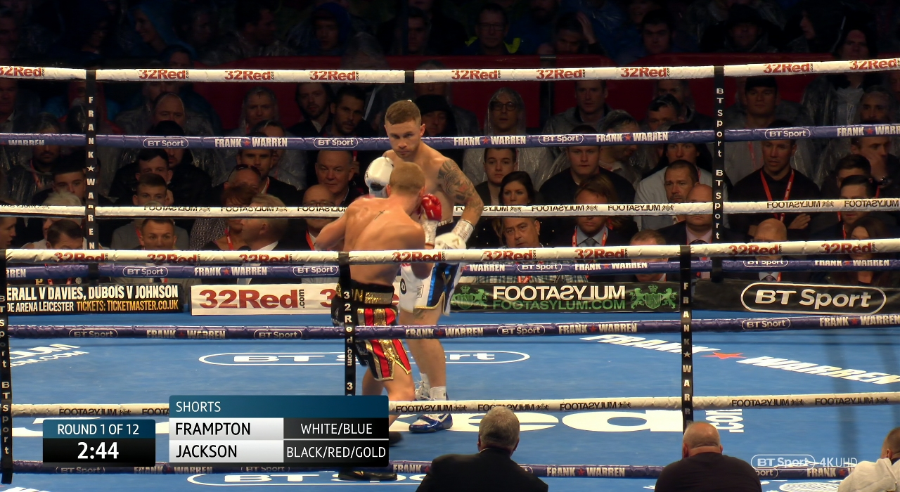 Carl Frampton vs. Luke Jackson
