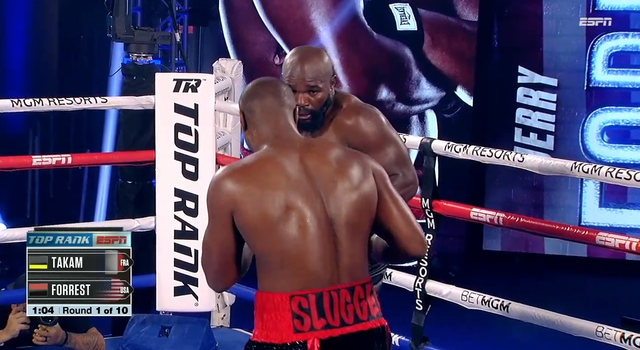 Carlos Takam vs. Jerry Forrest