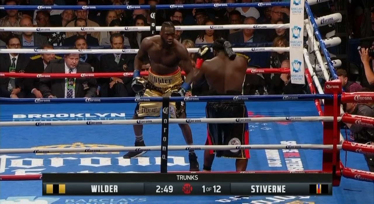 Deontay Wilder vs. Bermane Stiverne II