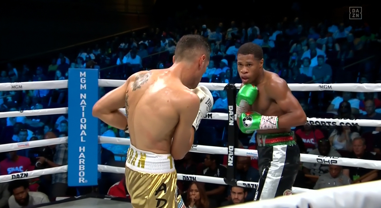 Devin Haney vs. Antonio Moran