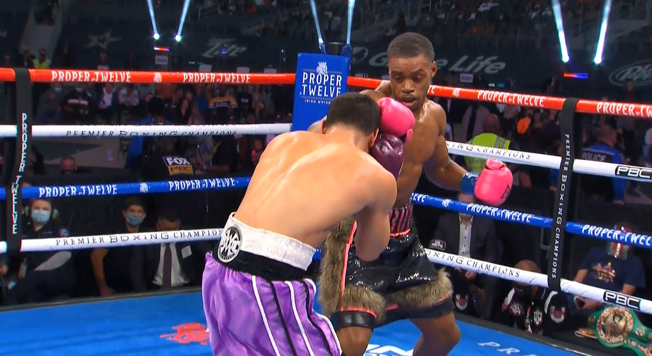 Errol Spence Jr. vs. Danny Garcia