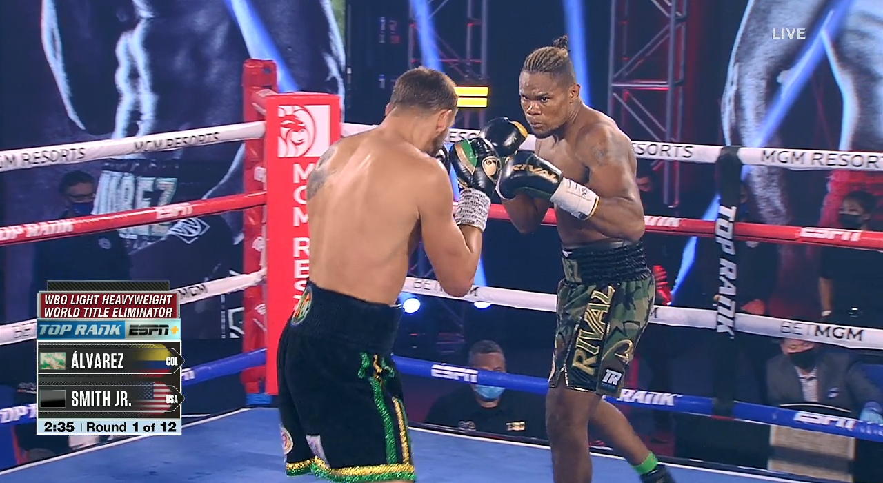 Joe Smith Jr. vs. Eleider Alvarez