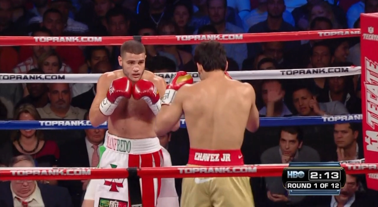 Julio Cesar Chavez Jr. vs. Peter Manfredo Jr.