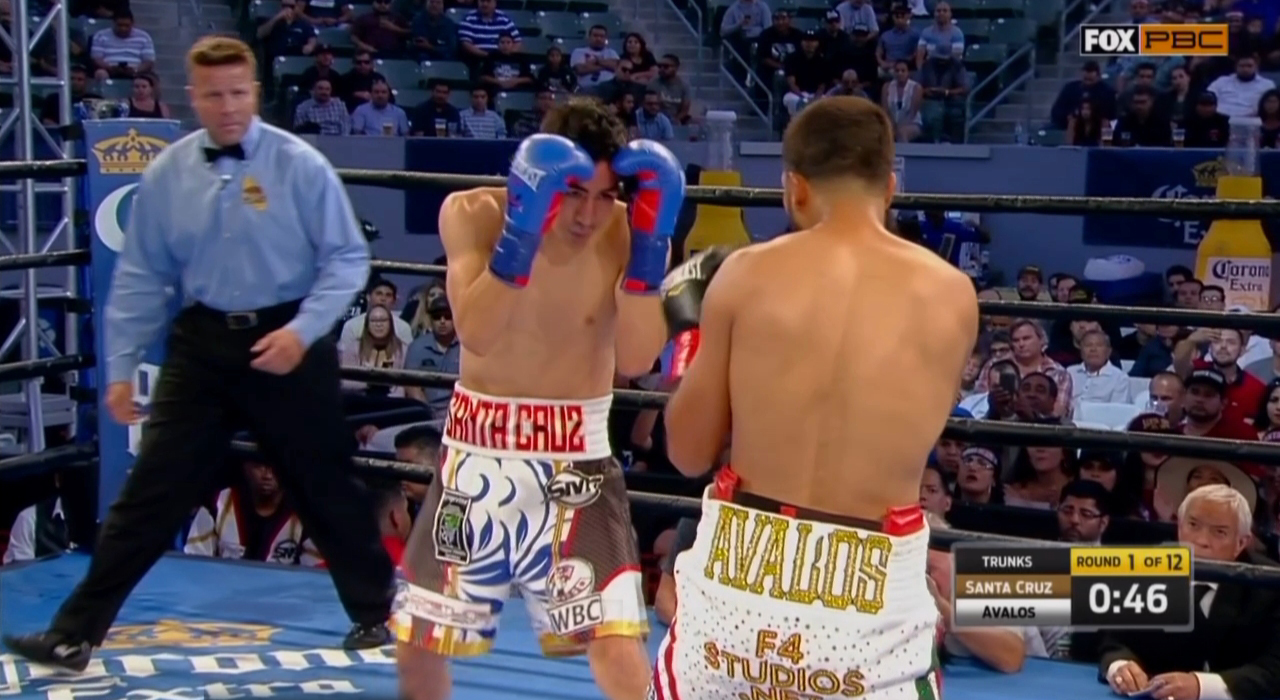 Leo Santa Cruz vs. Chris Avalos (FOX)