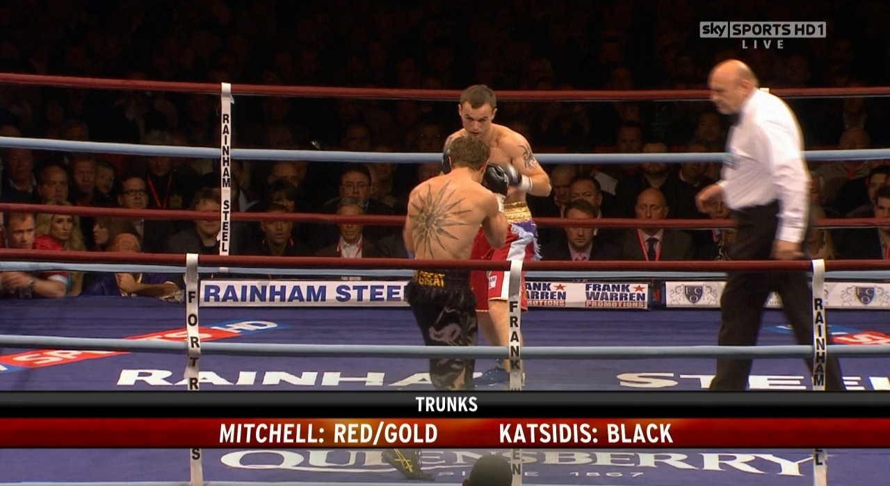 Michael Katsidis vs. Kevin Mitchell