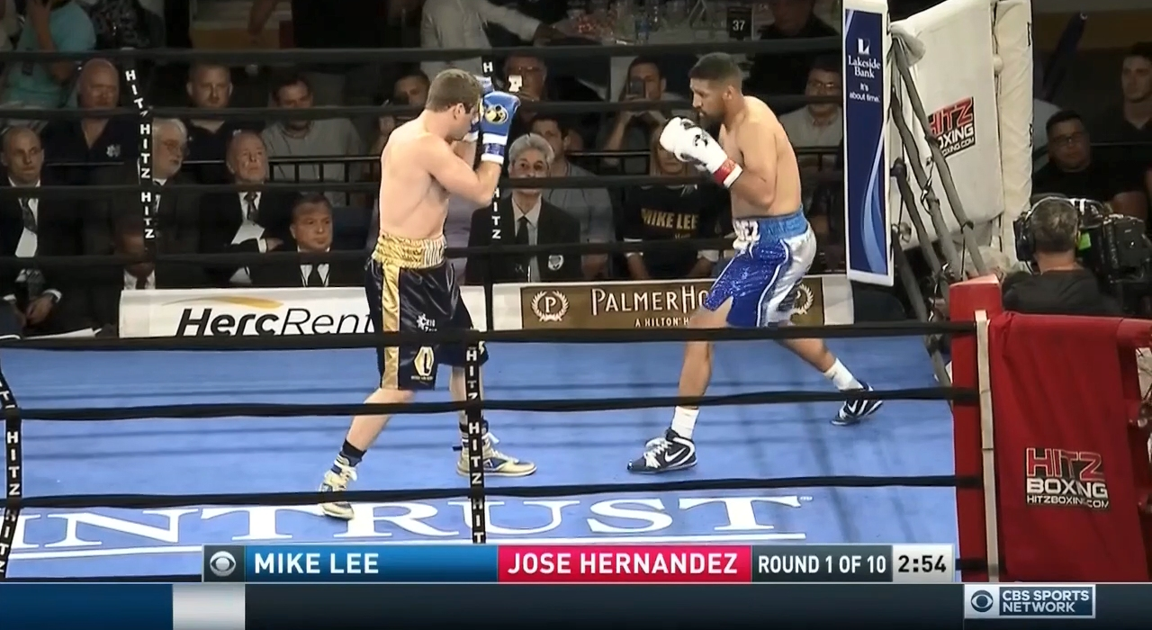 Mike Lee vs. Jose Hernandez