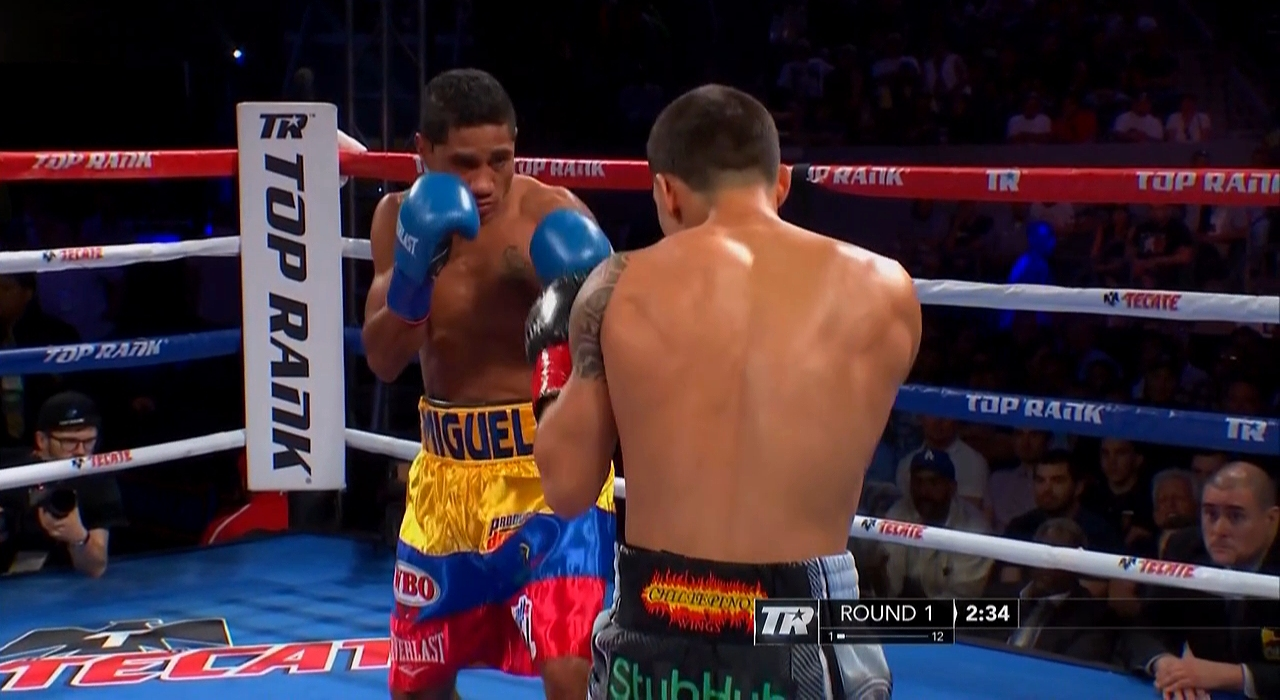 Oscar Valdez vs. Miguel Marriaga
