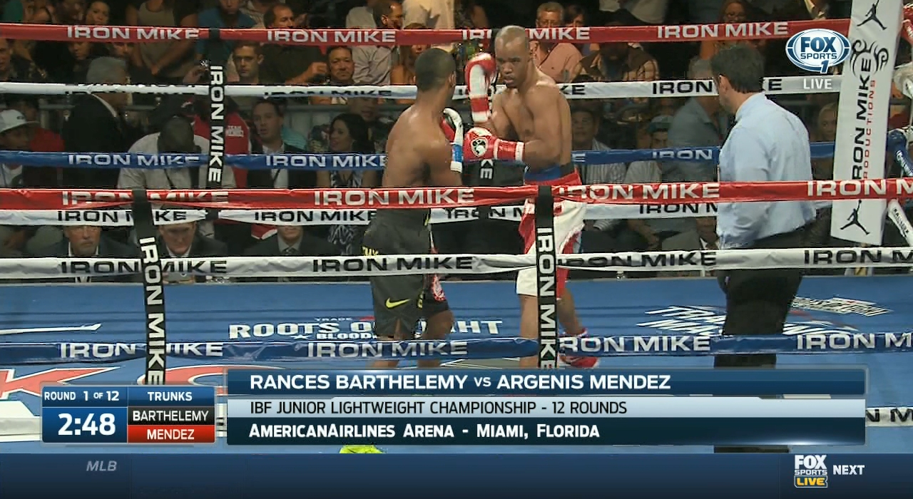 Rances Barthelemy vs. Argenis Mendez II