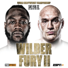 Tyson Fury vs. Deontay Wilder II ESPN/FOX