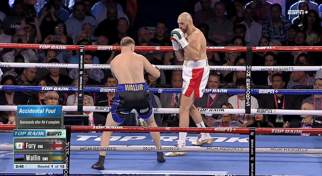 Tyson Fury vs. Otto Wallin (ESPN)