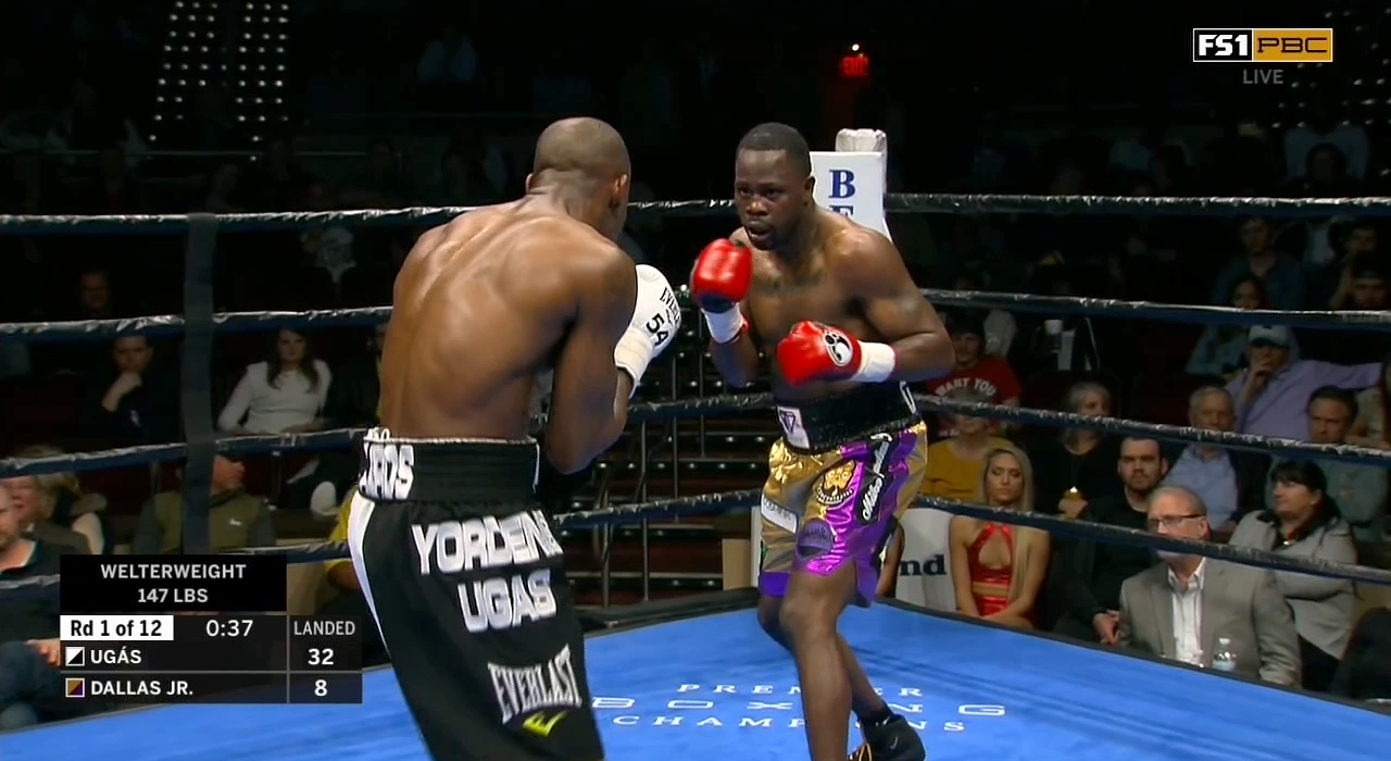 Yordenis Ugas vs. Mike Dallas Jr.